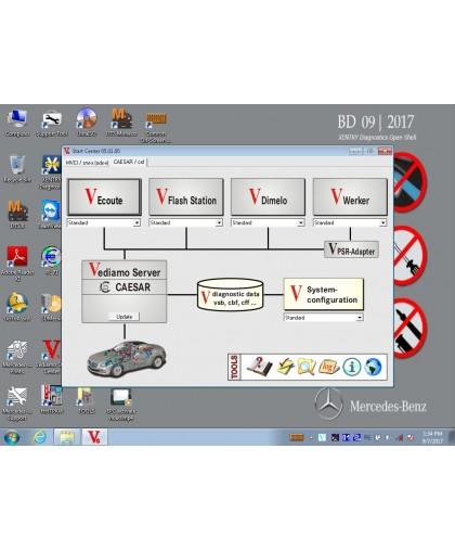 Mercedes XENTRY DAS WIS EPC VEDIAMO DTC MONACO