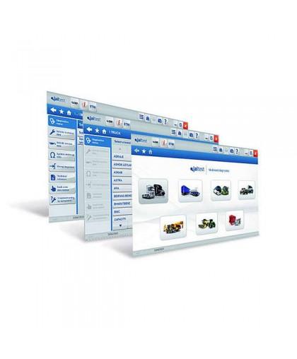 Программный модуль Jaltest Soft AGV для спец техники