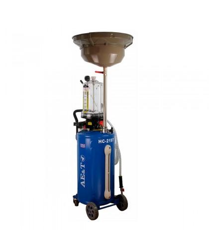 Установка для замены масла и антифриза AE&T HC-2197, 76л
